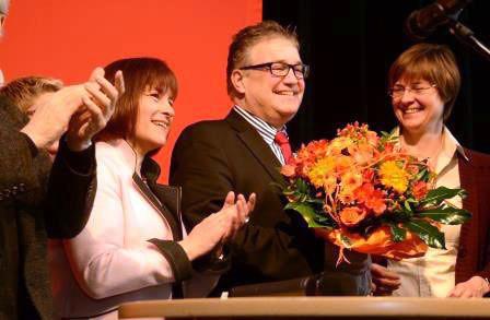 Hauke Jagau nach seiner Nominierung